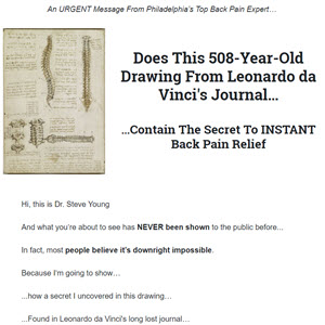 Natural Solution to get rid of Lower Back Pain